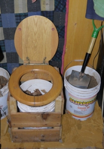 Our composting toilet