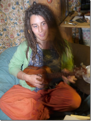 Meagan and Ukulele